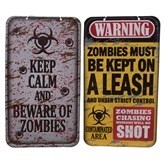 Warning Signs 40Cm Zombies