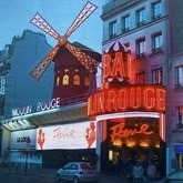 Banner Moulin Rouge Straatbeeld 100X80cm